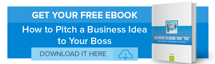 How to Pitch a Business Idea to Your Boss Banner